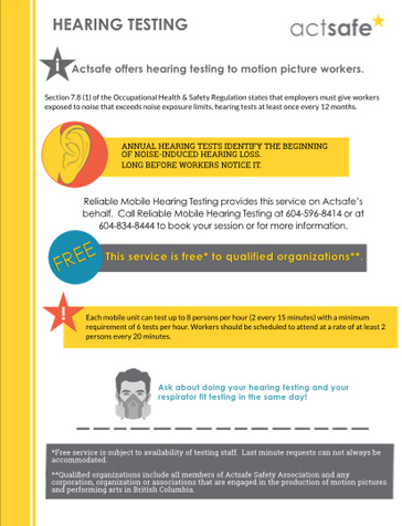 626404deaf7 Annual Hearing Testing - Free to Qualifying Organizations
