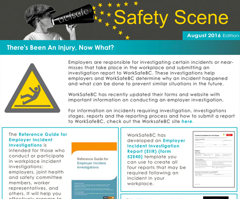 Newsletters Archives Actsafe Safety Association