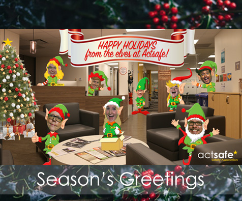 b2e8e12b0fa Happy Holidays from Actsafe! Industry News · christmas. Season s Greetings!