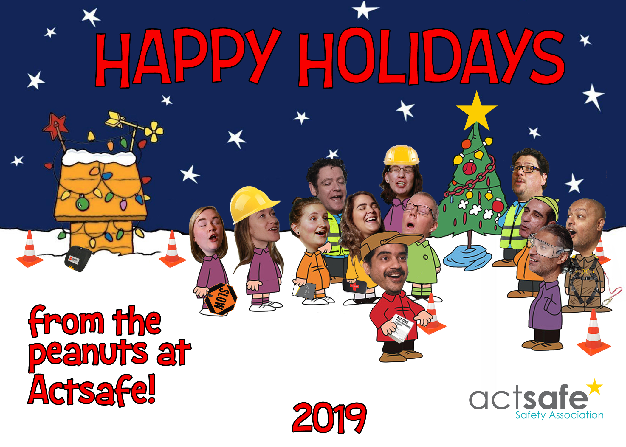 Actsafe Christmas Card 2019
