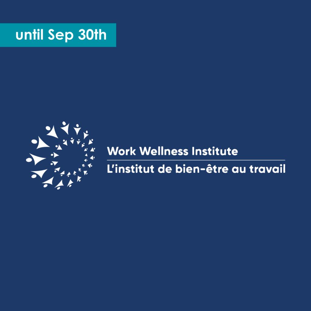 AIP Week Work Wellness Institute until Sep 30th